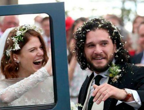 В Шотландии состоялась свадьба звезд «Игры престолов» Кита Харингтона и Роуз Лесли