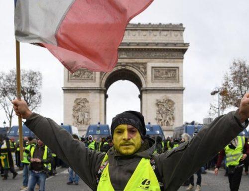 Банк Франции отметил падение роста экономики на фоне протестов